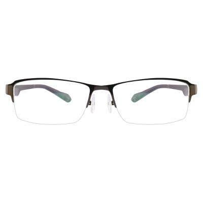 G4U-391 Rectangle Eyeglasses 126256-c