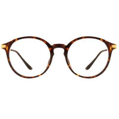 G4U 9001A Round Eyeglasses 126323-c