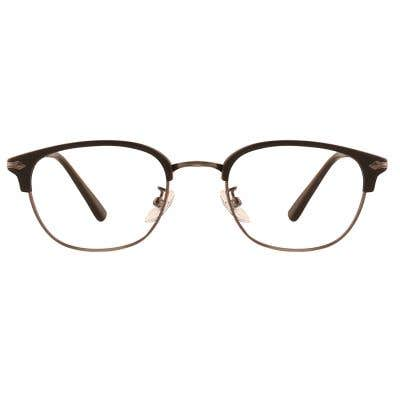 Browline Eyeglasses 126331-c
