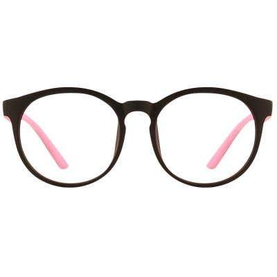 G4U TT6581 Round Eyeglasses 126529-c