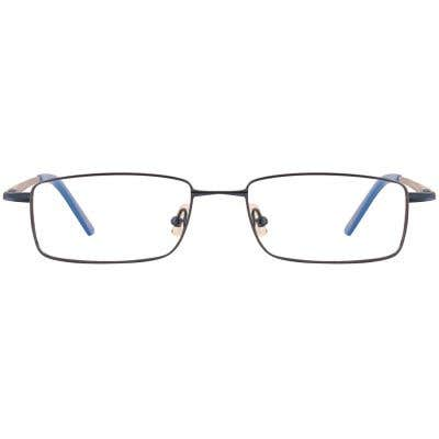 G4U C2005 Rectangle Eyeglasses 126582-c