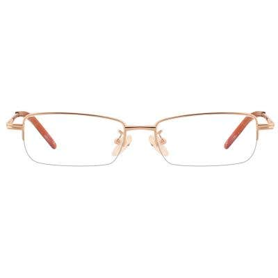 G4U B1012 Rectangle Eyeglasses 126584-c
