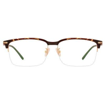 Browline Eyeglasses 126589-c