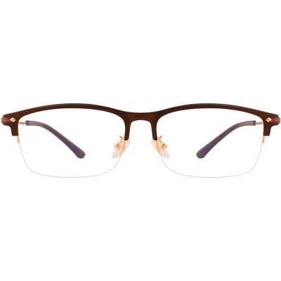 G4U L1129 Rectangle Eyeglasses 126605-c