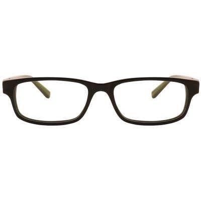 G4U 17D002-3 Rectangle Eyeglasses 126613-c