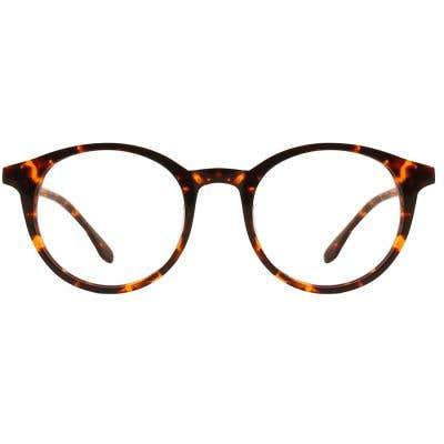 G4U LV-85112 Round Eyeglasses 126683-c