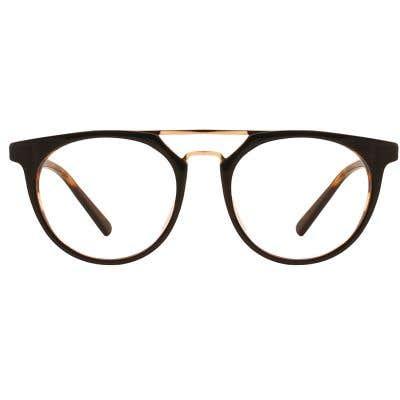 G4U LV25025 Round Eyeglasses 126761-c