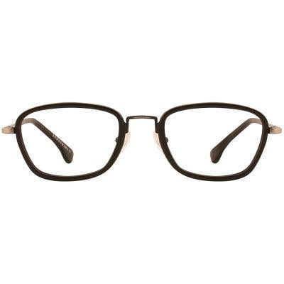 G4U LV-85098 Rectangle Eyeglasses 126808-c