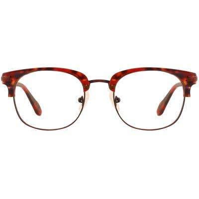 G4U L1560B Browline Eyeglasses 126874-c