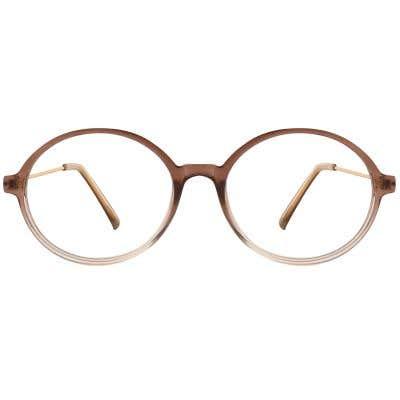 G4U 9318 Round Eyeglasses 127001-c