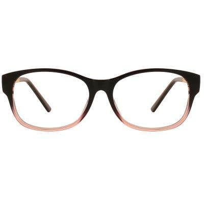 G4U T8048 Rectangle Eyeglasses 127004-c