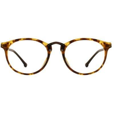 G4U 8123 Round Eyeglasses 127025-c