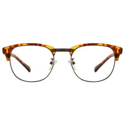 G4U T6118 Browline Eyeglasses 127076-c