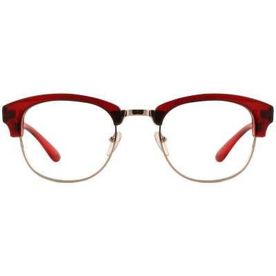 G4U TR1802-2 Browline Eyeglasses 127121-c