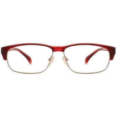 G4U TR1808 Browline Eyeglasses 127123-c