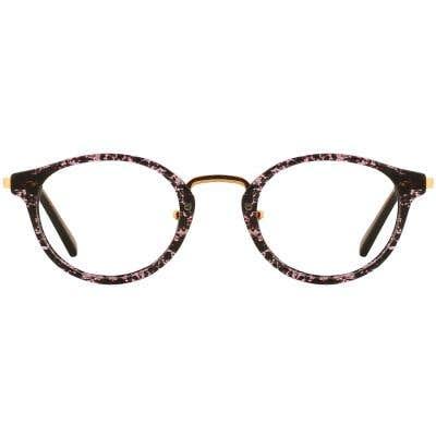G4U 9329 Round Eyeglasses 127133-c