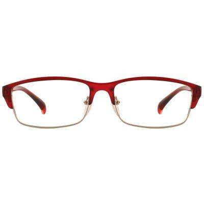 G4U TR1807-3 Browline Eyeglasses 127141-c