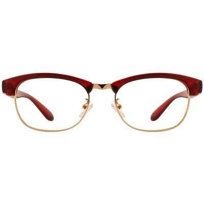 G4U TR1803-1 Browline Eyeglasses 127206-c