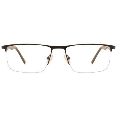 G4U R55887 Rectangle Eyeglasses 127237-c