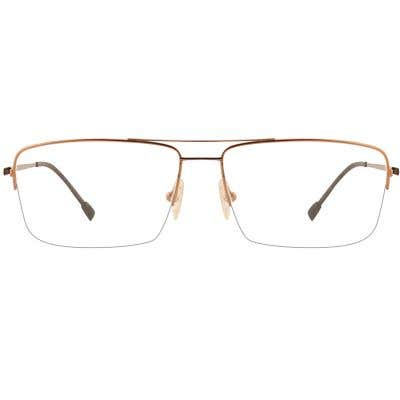 G4U CM5010 Rectangle Eyeglasses 127274-c