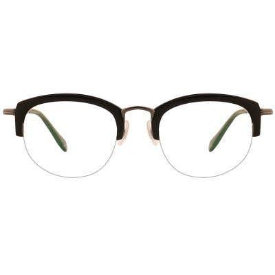 G4U 12885 Rectangle Eyeglasses 127405-c