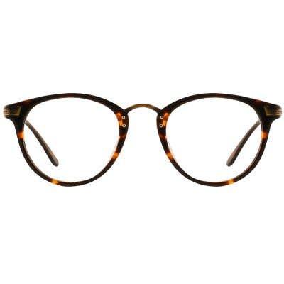 G4U 12881Round Eyeglasses 127407-c