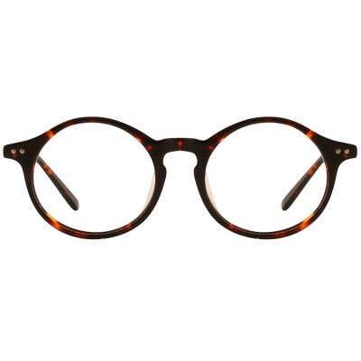 G4U 12820-1 Round Eyeglasses 127410-c