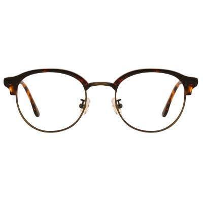 G4U 12845 Browline Eyeglasses 127412-c