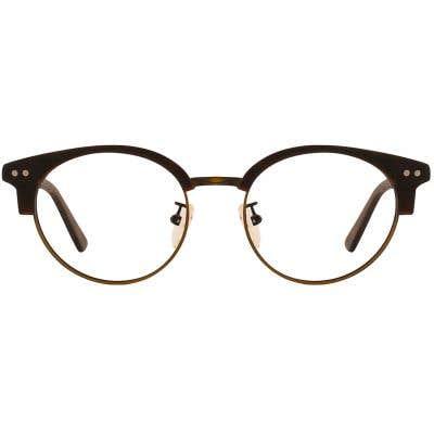 G4U SM-12806 Browline Eyeglasses 127454-c