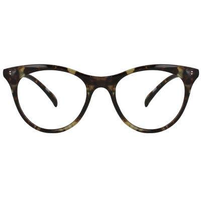Cat Eye Eyeglasses 127821-c