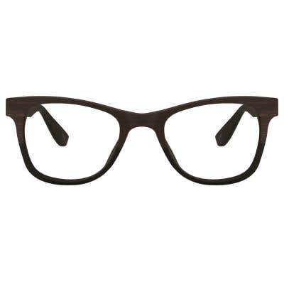 Wood Eyeglasses 128804-c