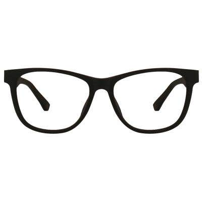 Wood Rectangle Eyeglasses 128851-c