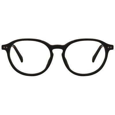Wood Round Eyeglasses 128870-c