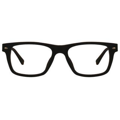 Wood Rectangle Eyeglasses 128890-c