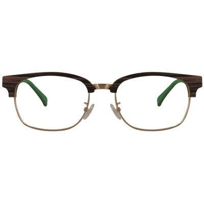 Browline Eyeglasses 129012