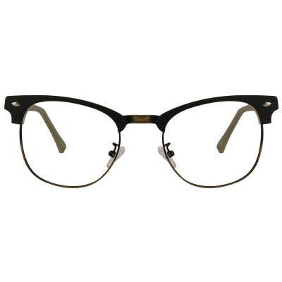 Browline Eyeglasses 129016-c