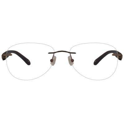 California Rimless Eyeglasses