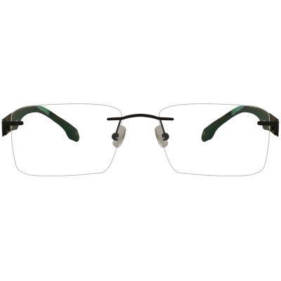 New York Rimless Eyeglasses