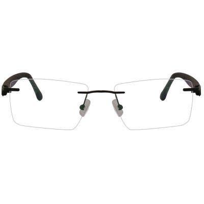 Vegas Rimless Eyeglasses