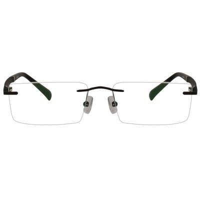 Chicago Rimless Eyeglasses