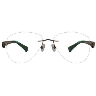 Huston Rimless Eyeglasses