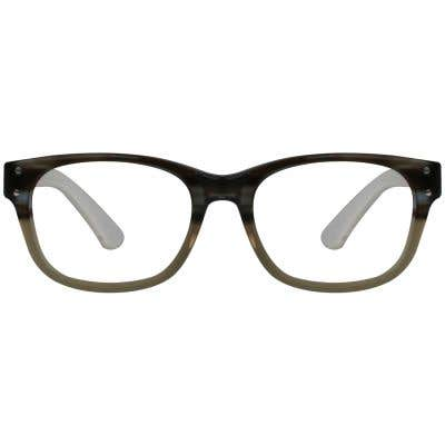 Rectangle Eyeglasses 129586