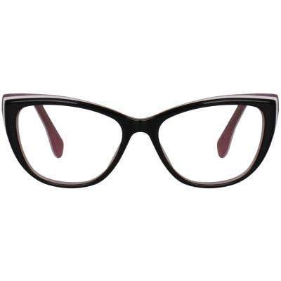 Cat Eye Eyeglasses 130074-c