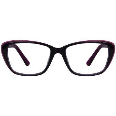 Cat Eye Eyeglasses 130079-c