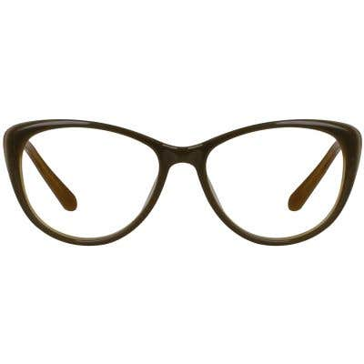 Cat Eye Eyeglasses 130088-c