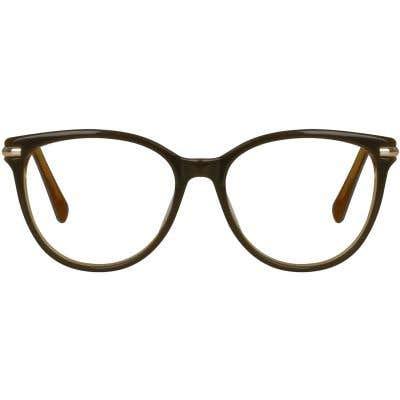 Cat Eye Eyeglasses 130090-c