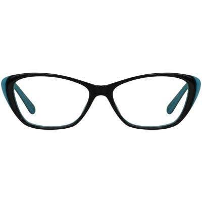 Cat Eye Eyeglasses 130099-c