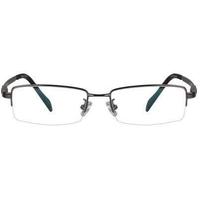 Rectangle Eyeglasses 130204-c