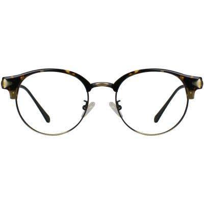 Browline Eyeglasses 130347-c