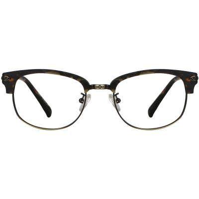 Wood Browline Eyeglasses 130362-c